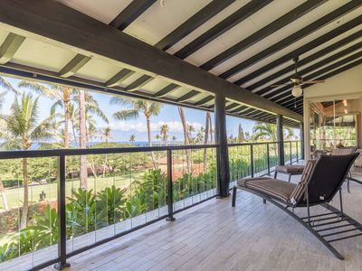 Photo for SUMMER SPECIAL - 20% OFF - Ka'anapali Golf Course Home - Large Lanai, wonderful views, Sleeps 6!