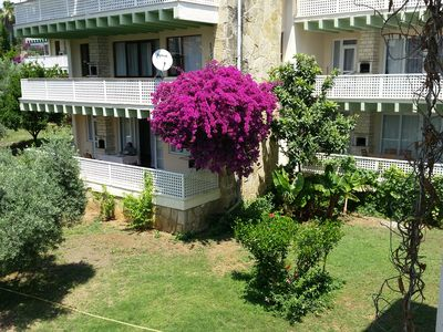 Photo for Nice vacation apartment in beautiful complex, just a short walk from the sea