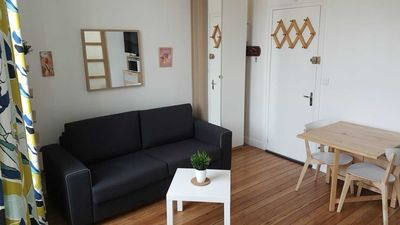 Photo for Quiet studio, downtown, 100 m from the beach