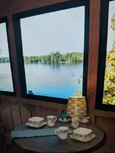 Photo for LAKEFRONT CABIN ON MESSALONSKEE LAKE