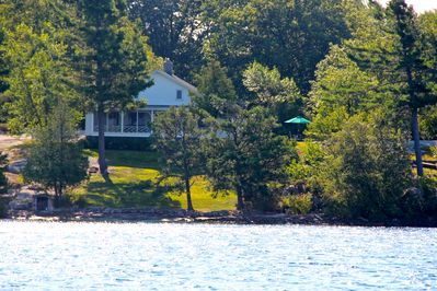 View of property from the boat
