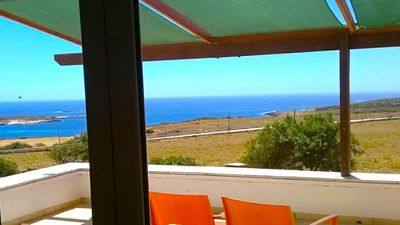 patio vista mare