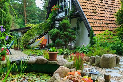 A Comfortable Apartment In A Country House Beautiful Garden