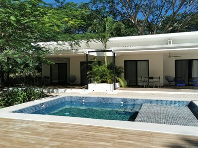 Photo for CASA MAJ #1 FAMILY DELUXE BUNGALOW WITH POOL AND GARDEN