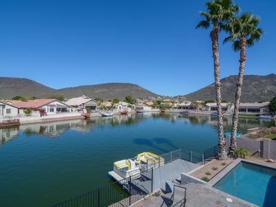 Photo for Luxury Collection Lakeside Retreat with Heated Pool, Boat, Lake & Mountain Views