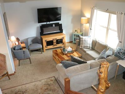 Photo for 3000 SqFt w/ 5BD+Den/3.5 BA House - Sleeps 14/bed, Close To All Resorts and Town
