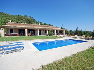 Photo for This 3-bedroom villa for up to 6 guests is located in Sa Pobla and has a private swimming pool......
