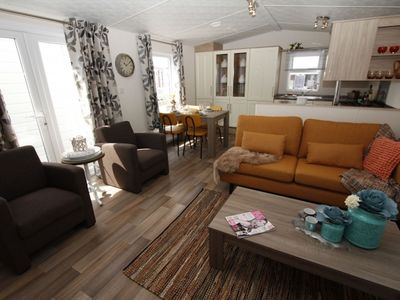 Photo for Comfortable chalet with a terrace in a beautiful setting