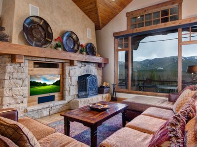 Photo for Gorgeous home w/ furnished balconies, a private hot tub, & amazing views
