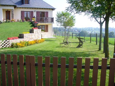 Photo for Gite in the countryside, 984 feet away from the village, quiet, clear view