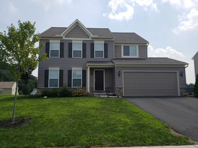 Brand new home with lots of space and driveway parking.