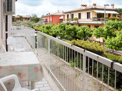 Photo for Nice apartment for 5 people with pool, A/C, WIFI, TV, balcony, pets allowed and parking