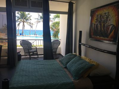 Photo for Macorix: a stylish ocean front apartment, stunning view