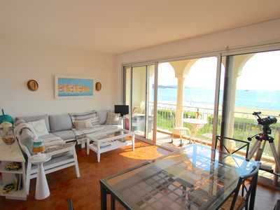 Photo for Pretty 4-room apartment with WIFI on the beach