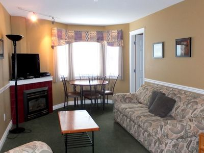 Photo for 1 Bedroom Condo + Alcove + Hot Tub at Lord Aberdeen Hotel, Silver Star