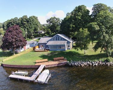 Photo for NEW LISTING ☼ White Lake Waterfront Vacation Home - Bring Your Boat! ☼
