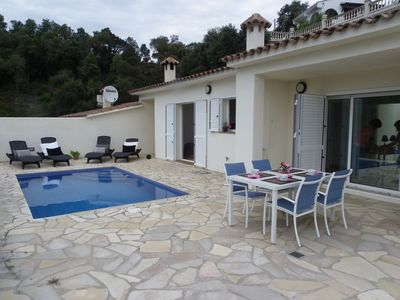 Photo for MODERN HOUSE WITH POOL AND FANTASTIC VIEWS ref MOLI-13