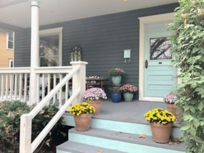 Photo for Life on Maine is a beautiful historic home in Old West Lawrence.