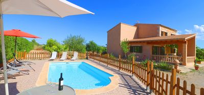 Photo for Ca'n Olivaret, Air Conditioning, Wi-fi, Pool, Garden, 15 Minutes from  Es Trenc