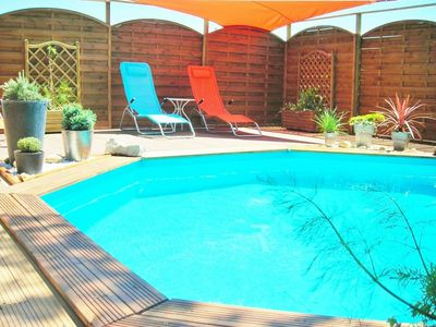 Photo for Gite le COQUELICOT, Swimming Pool, Parking, Wifi ...