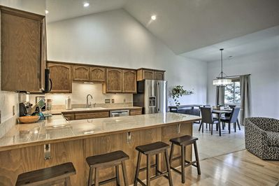 Enjoy all the comforts of home in an upscale interior!