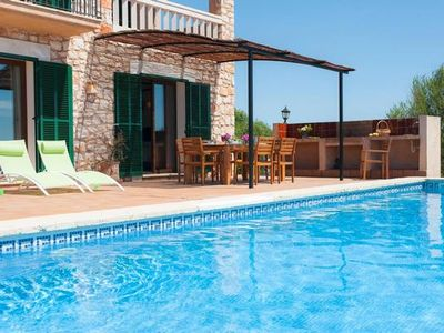 Photo for Holiday house Cala Mondrago for 1 - 8 persons with 4 bedrooms - Holiday house