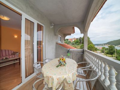 Photo for Apartment MG  A2 boja marelice(5+1)  - Supetarska Draga, Island Rab, Croatia