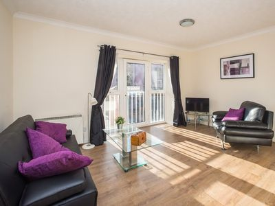 Photo for Apartment 135 m from the center of Newcastle upon Tyne with Internet, Lift, Washing machine (706682)