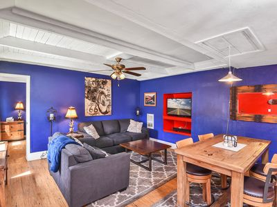 Photo for Downtown 1 Bedroom w/Hot Tub, Sleeps 4
