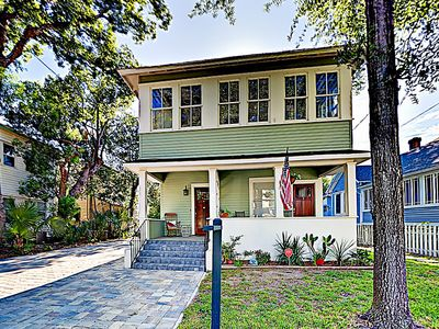 Photo for New Listing! Classic Charm in the City w/ Sunroom & Patio, Walkable Locale