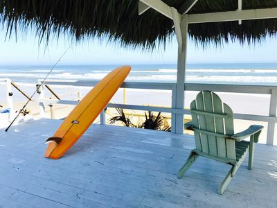 Photo for Secluded Tiki Beach House - Beach fun, surf, meditate, fish, play or just relax