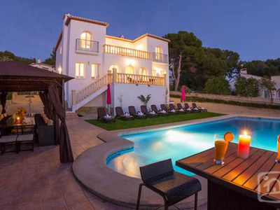 Photo for 5 bedroom Villa, sleeps 10 in Moraira with Pool and WiFi