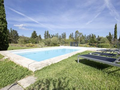 Photo for Tranquil Villa with private pool, fenced  - perfect for a family holiday