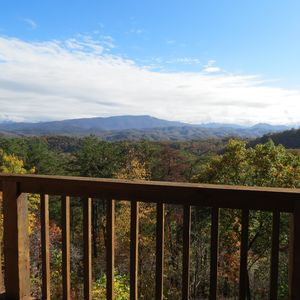 Breathtaking View from your Rocking Chairs on the deck.