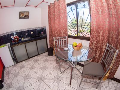 Photo for UPSTAIRS 1 BR APARTMENT. GREAT LOCATION / AC . WiFi.KITCHEN