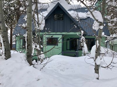 Photo for Newly Remodeled cabin one block from Donner Lake.