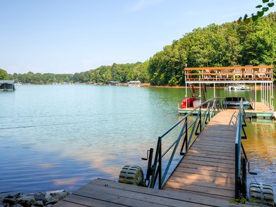 Photo for Picturesque Lake Hartwell Home in Gated Community!