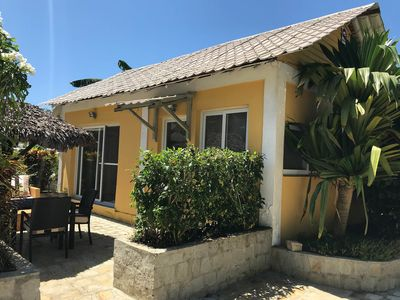 Photo for Wonderful poolside bungalow perfect for 2 people