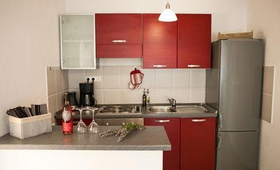 Apartment III - moderne Küche - modern kitchen