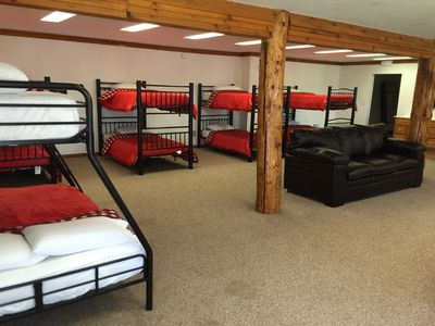 Dorm 14 beds 1 full and 13 twin