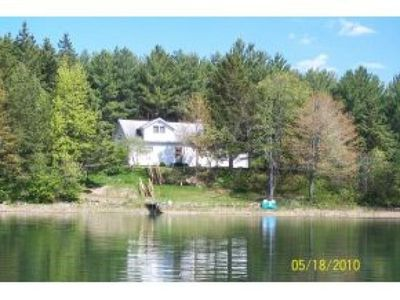 Photo for Beautiful Lake Front Home - Elcho, WI