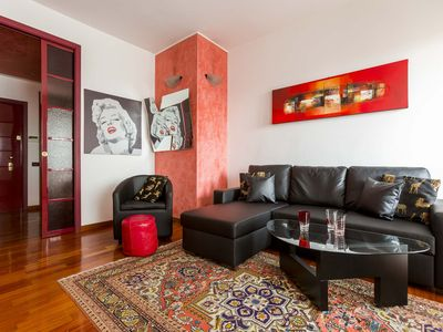 Photo for Spacious 1bdr steps from Garibaldi-Isola district