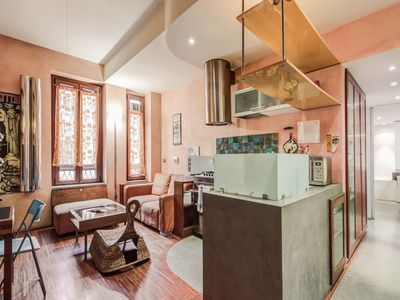 Photo for Testaccio 2 bedroom with FREE WiFi