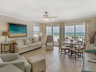 Photo for Gulf Front Condo! Sleeps 6! Free WiFi!