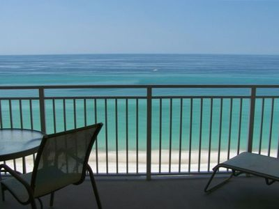 Photo for Beachy Gulf-Front, reserved beach chairs, near restaurants, shops, activities