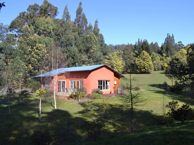 Photo for Self-contained in beautiful quiet surroundings with valley and mountain views