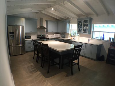 Photo for Beautifully renovated waterfront home with a beachy cottage feel!!