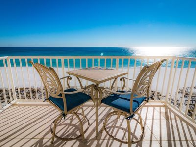 Spectacular Beach Front Views!  Free Lazy Days Beach Chairs & Umbrella Included!