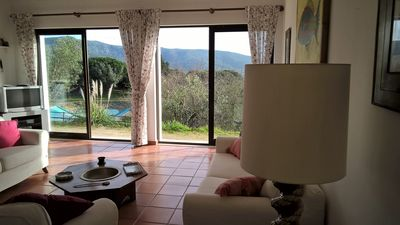 Photo for 3BR House & Pool in Arrábida, Azeitão. Stunning views & Sunset, near beaches