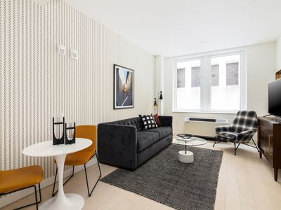 Photo for Sonder | Wall Street | Charming 1BR + Kitchen
